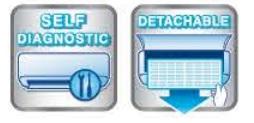 Âm trần cassetteInverter21.000 BTU 2 chiều FDTC60VF