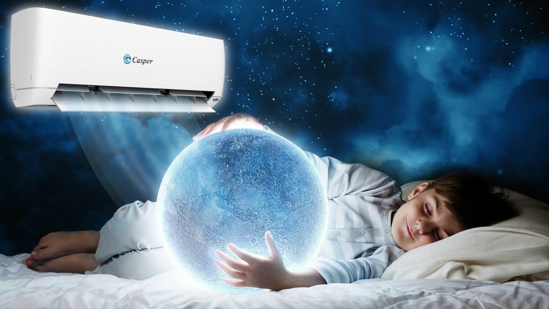 Điều hòa Casper  Smart On/Off 24.000 BTU 1 chiều